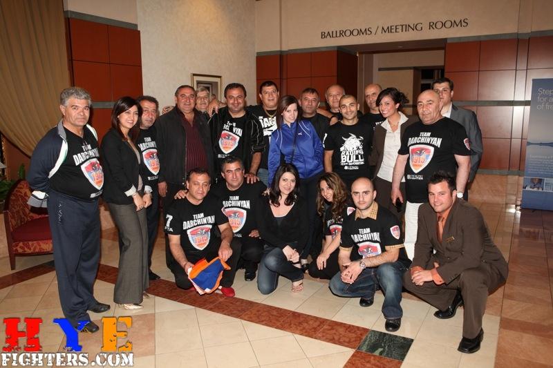 Darchinyan victory celebration