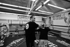 Gegard Mousasi Training at GFC