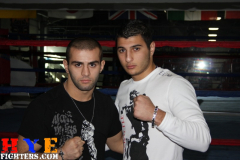 Vic Darchinyan at Main Event Gym in Glendale CA 11/25/10