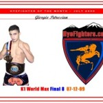HyeFighter of the month for July 2009: Giorgio Petrosyan