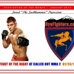 HYEFIGHTER of the month: January  2010  Jared Papazian