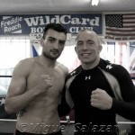 HyeFighter Vanes Martirosyan Sparrs with Georges St. Pierre at Wild Card