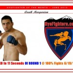 HYEFIGHTER of the month: June 2010 Araik Margarian