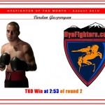 HYEFIGHTER of the month: August 2010 Vardan Gasparyan
