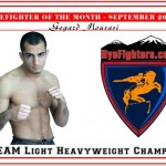 HYEFIGHTER of the month: September 2010 Gegard Mousasi