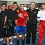 HyeFighter Vic Darchinyan Trains and Spars at Local Glendale Gym