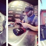 HyeFighter Manny Gamburyan At UFC Undisputed 3 Autograph Signing