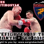 HyeFighter Of The Month: February 2012 – Vanes Martirosyan