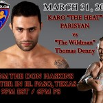 HyeFighter Parisyan Back In The Cage On March 31st