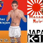 HyeFighter Sarkisjan To Face Noiri In Japan On May 20th