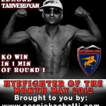 HyeFighter Of The Month: May 2012 – Edmond Tarverdyan