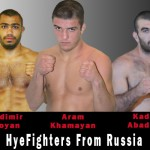 Meet 3 MMA HyeFighters From Russia