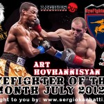 HyeFighter Of The Month: July 2012 – Art Hovhannisyan
