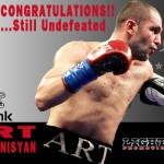 HyeFighter Hovhannisyan Still Undefeated