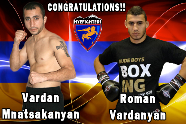 HyeFighters Mnatsakanyan & Vardanyan Win In Spain