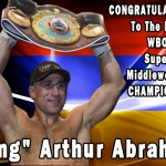 Abraham Is The New WBO Super Middleweight Champion