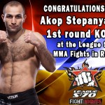 HyeFighter Akop Stepanyan Wins in Russia
