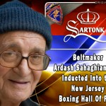 Master Craftsman, Ardash Sahaghian Inducted into New Jersey Boxing Hall of Fame