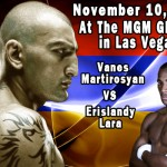 HyeFighter Martirosyan Get Fights With Lara