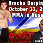 HyeFighter Darpinyan Fighting In Russia On October 13