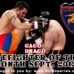 HyeFighter Of The Month: September 2012 – Gago Drago