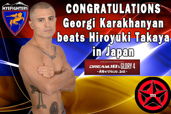 Karakhanyan Beats Takaya In Japan