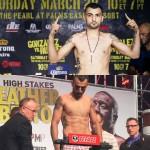 Vanes Martirosyan vs Ishe Smith weigh ins